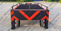 PICTURE OF THE MOVABLE LOADING PLATFORM WITH FRONT UNLOADING
