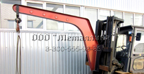 PICTURE OF MOUNTED BEAM CRANE FOR FORKLIFT
