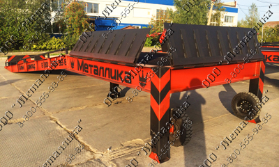 LOADING RAMP МР-С 12M (THREE-SIDED)